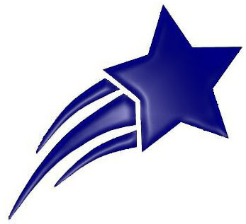 Shooting Stars Clip Art