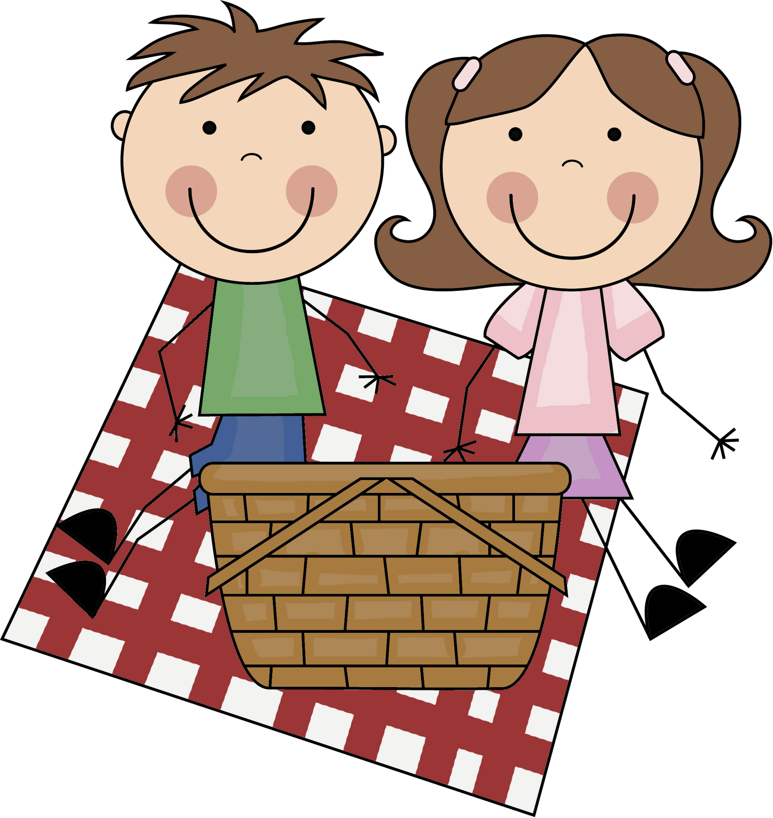 Picnic Borders Clipart - Clipart Suggest