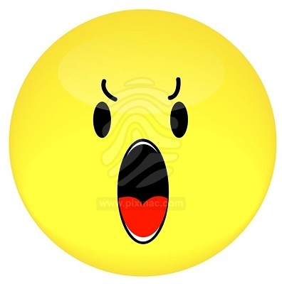 Yelling Face Clipart