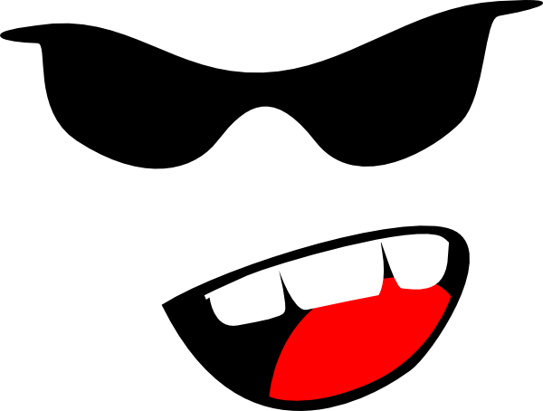 Yelling Smiley Face Yelling Emoticon Clip Art