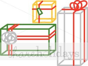 You May Also Like Modern Christmas Presents Plaid Christmas Present