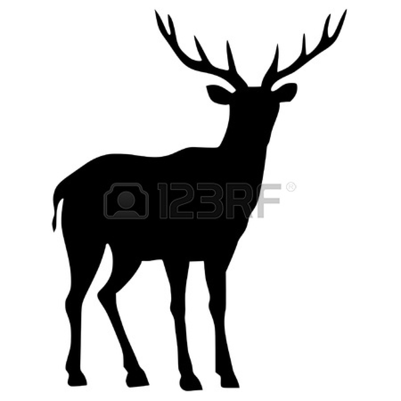 Baby Deer Silhouette Clip Art   Clipart Panda   Free Clipart Images