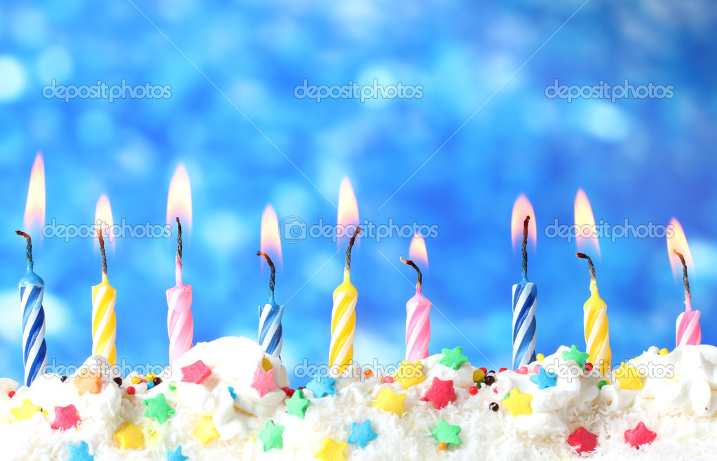 Birthday Candles On Cake Ideas And Designs