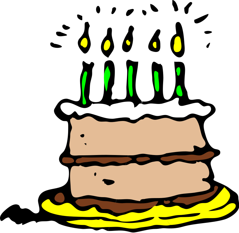 Birthday Clipart Pictures Png 61 75 Kb Cake Candle Birthday Clipart