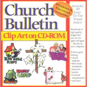 Church Bulletin Clip Art On Cdrom  Various Contributors  9780005168967