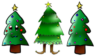 Free Chirstmas Tree Clipart From Our Free Christmas Clipart For Kids