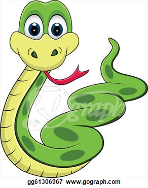 Illustration   Funny Snake Cartoon  Eps Clipart Gg61306967   Gograph