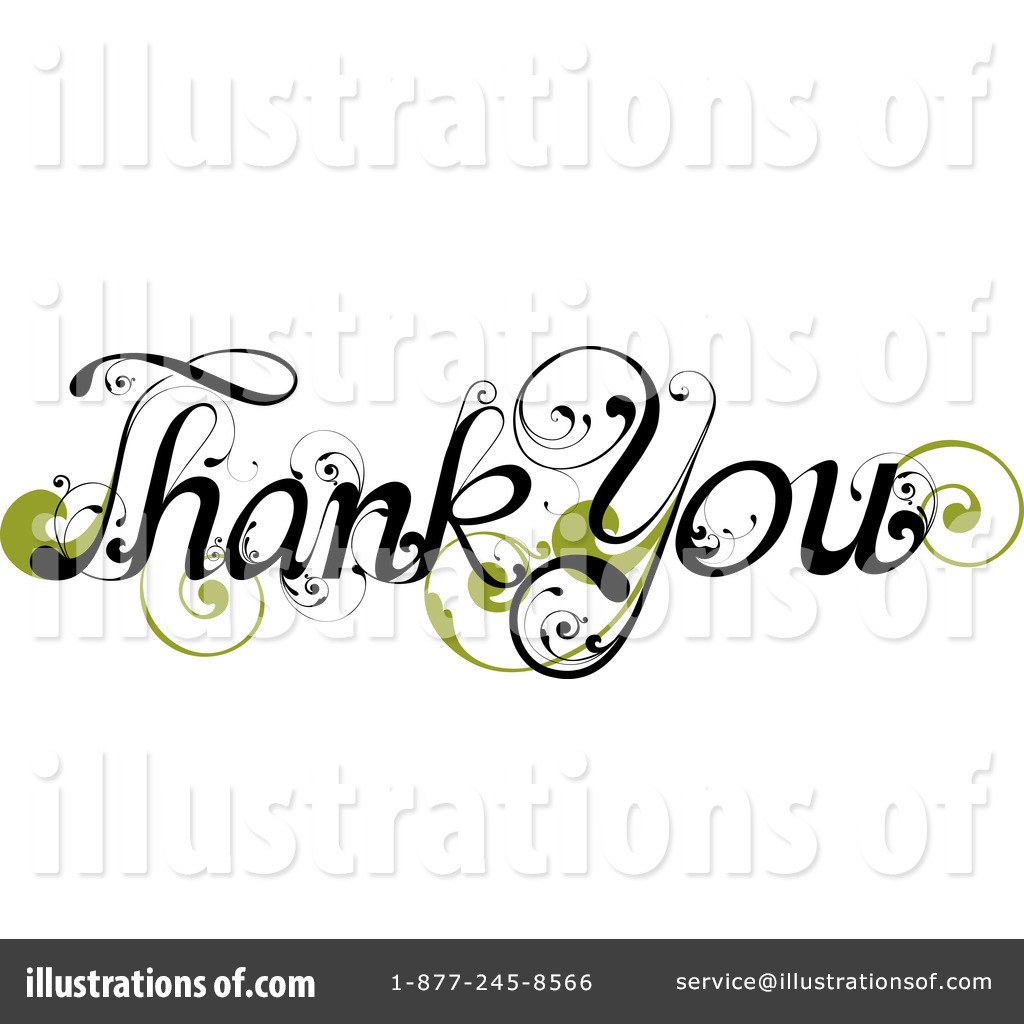 Royalty Free  Rf  Thank You Clipart Illustration By Onfocusmedia