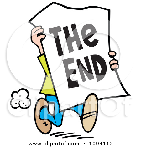 The End Clipart Royalty Free Rf The End Clipart Illustrations Vector Graphics 1