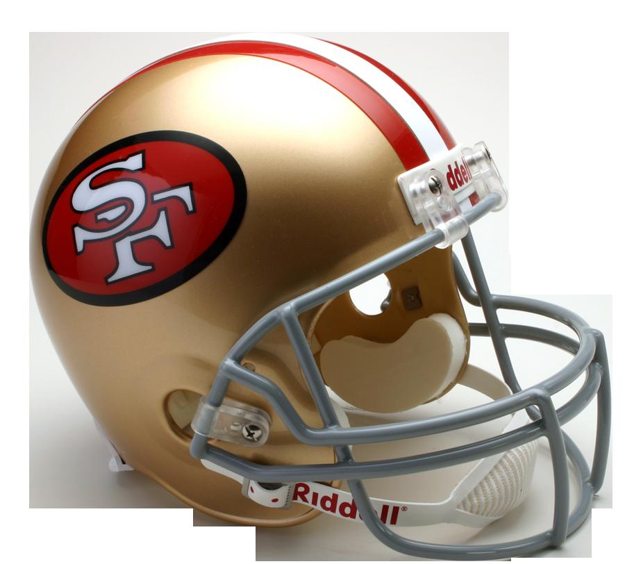 San Francisco 49ers Team Helmet Amp Logo Double Magnet Pack