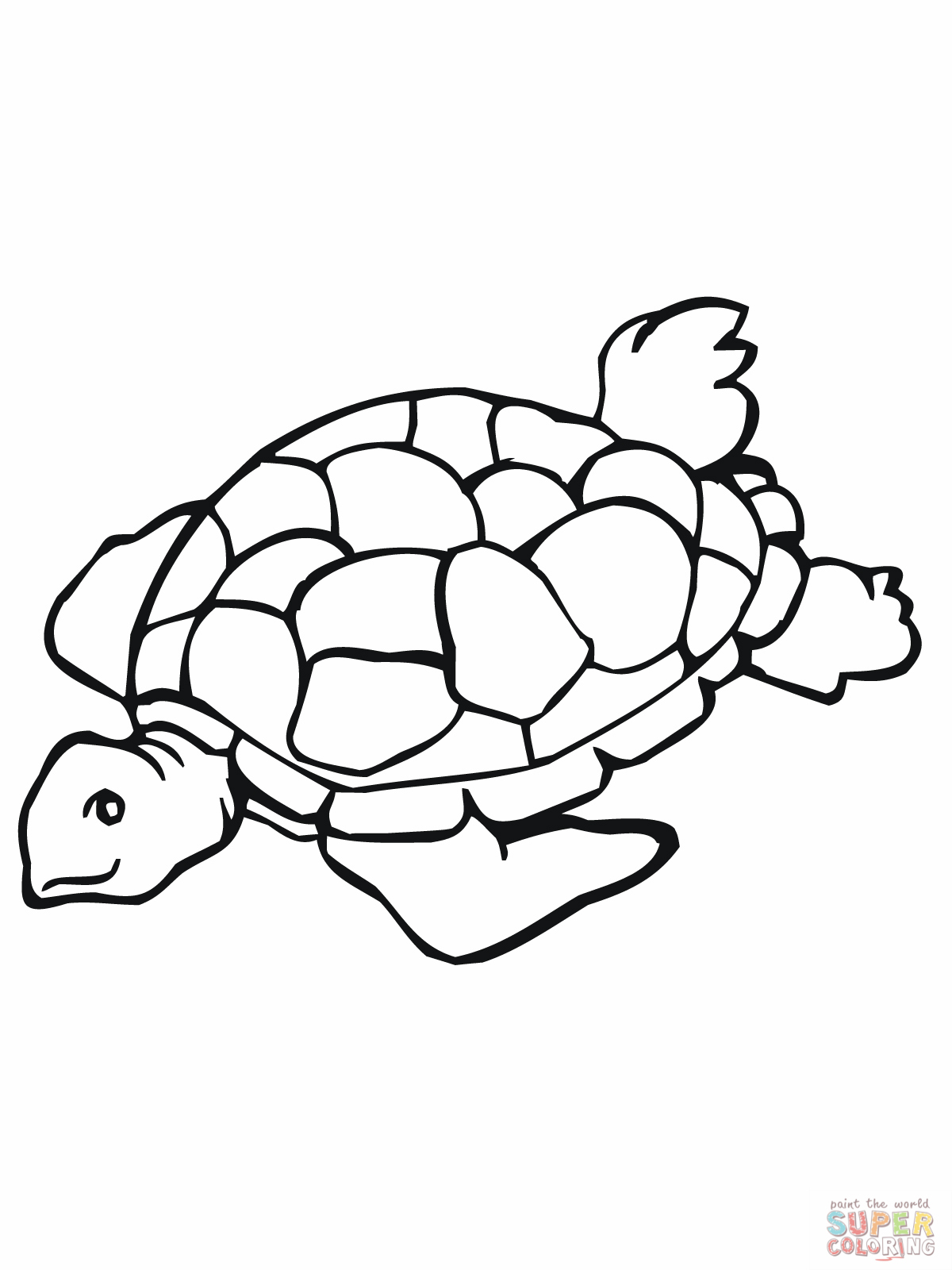 Sea Turtle Black And White Clipart - Clipart Suggest