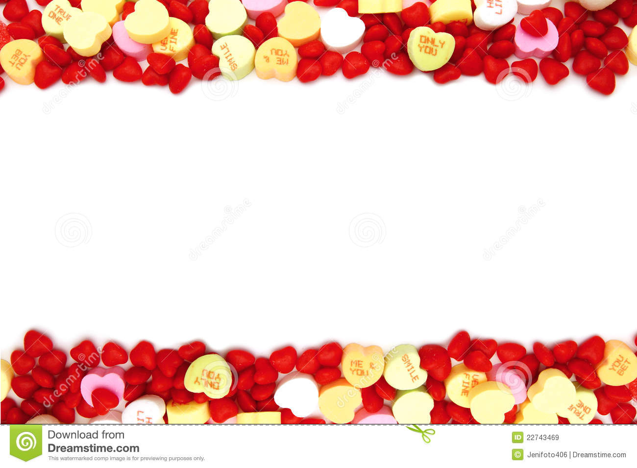 Valentine Candy Border Clipart Clipart Suggest