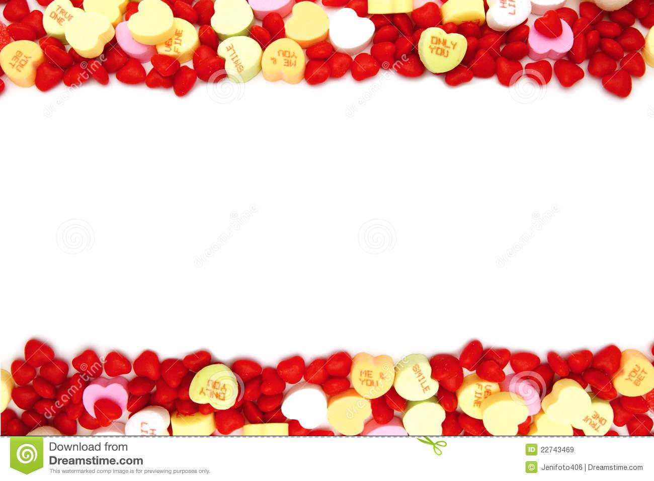 Valentine Candy Border Clipart - Clipart Kid