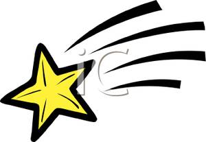 Clip Art Shooting Star Clipart yellow shooting star clipart kid picture