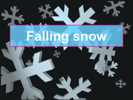 Animated Falling Snow Clip Art