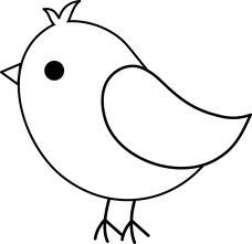 Baby Bird Clip Art   Google Search   Lettering Stencils   Printables