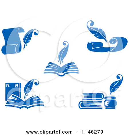 Book And Pen Clipart   Cliparthut   Free Clipart