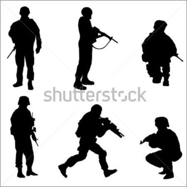 Download Source File Browse   People   Soldier Silhouettes