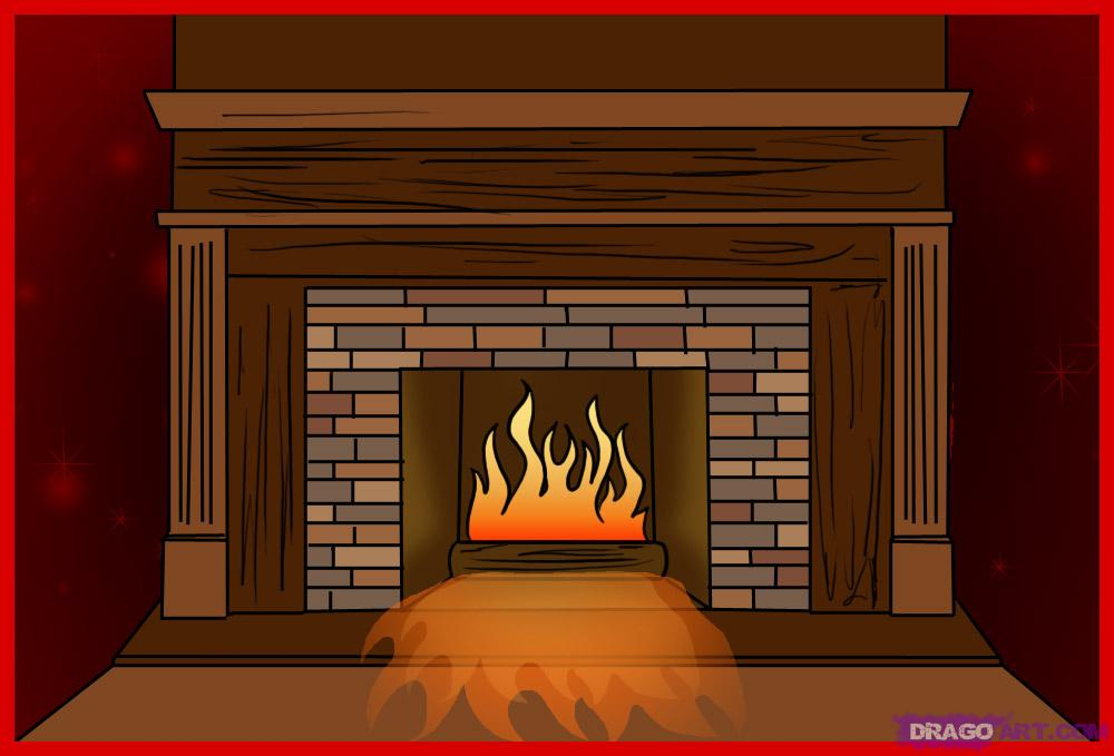 How To Draw A Fireplace Step By Step Stuff Pop Culture Free Online