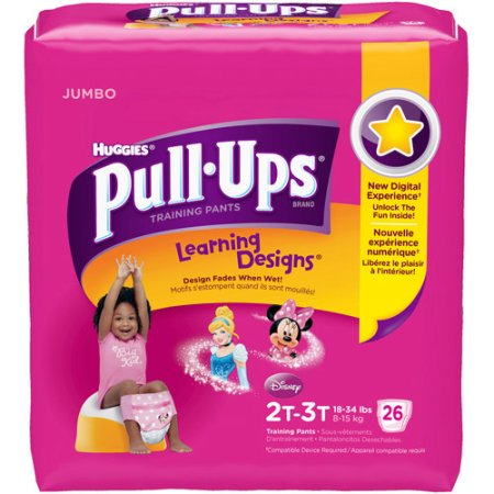 Huggies Pull Ups Learning Designs Training Pants  Choose Your Size