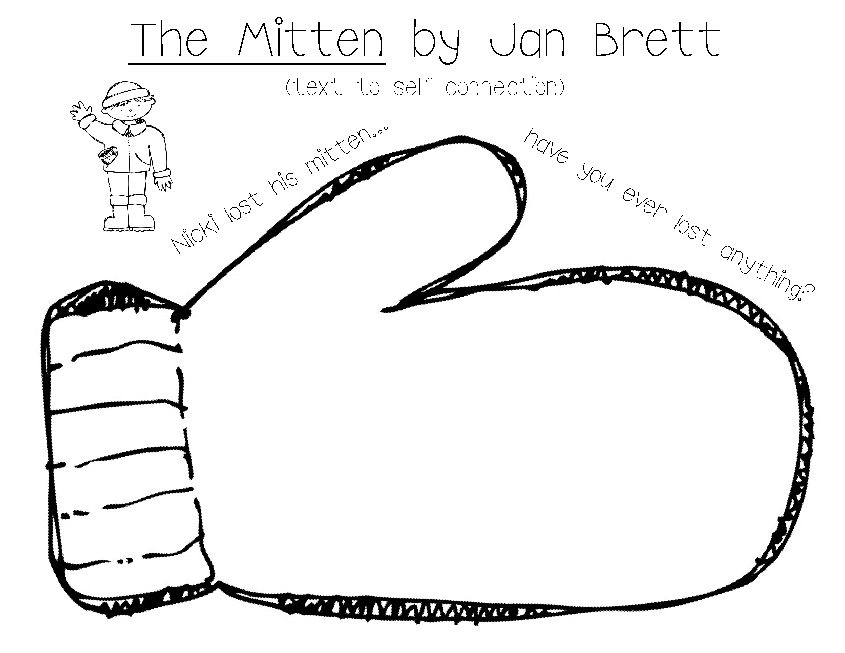 Large Michigan Mitten Clipart