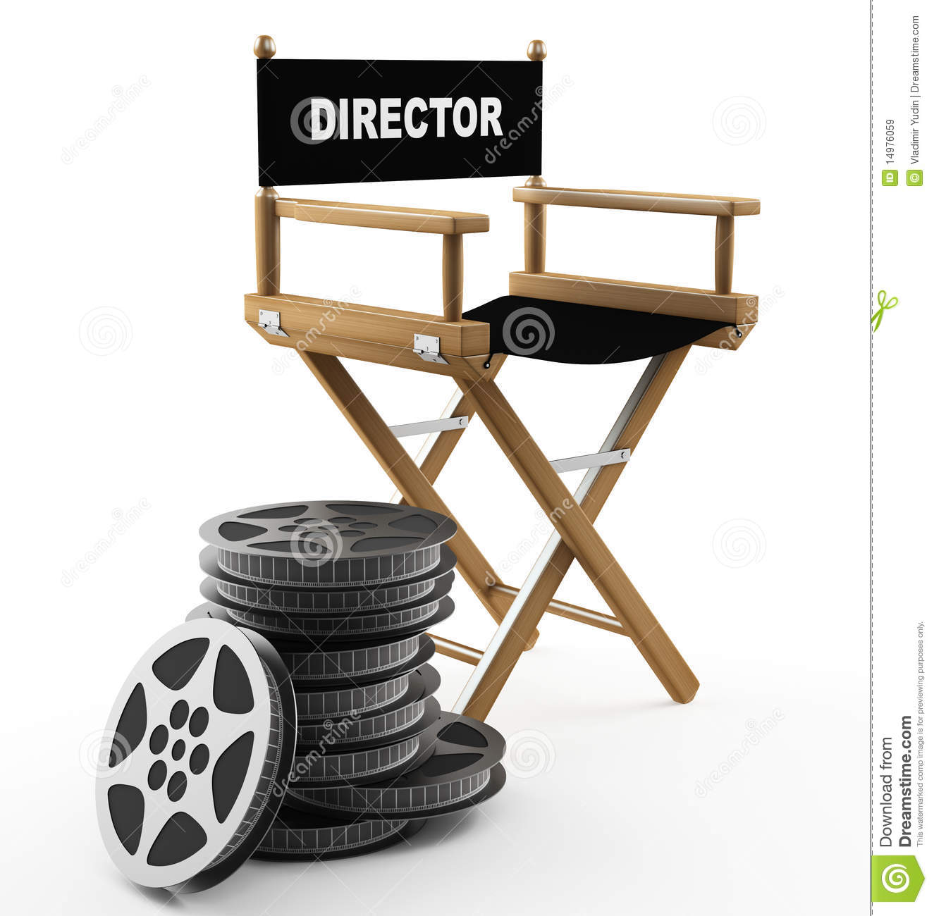 Director Chair Clipart - Clipart Suggest