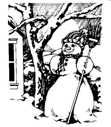 clipart snow scene - photo #40