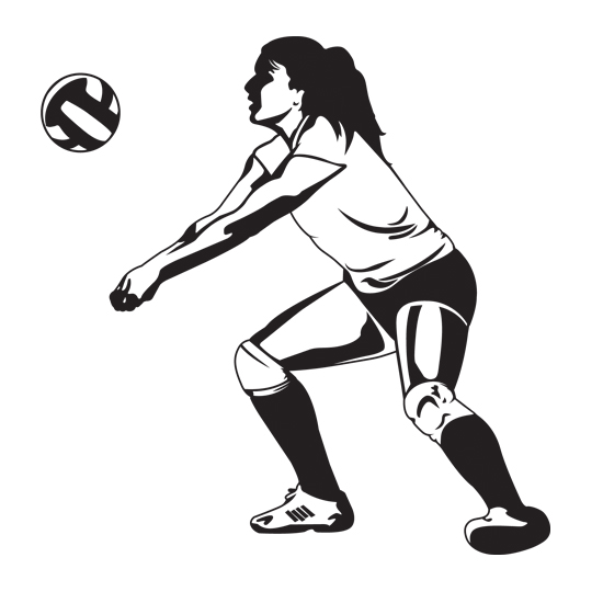 volleyball setting clipart - photo #20