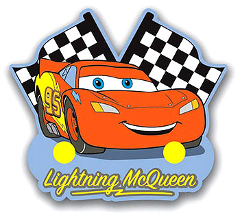 Cars Wall Rack Lightning Mcqueen Door Hook Clothes Hanger Clipart