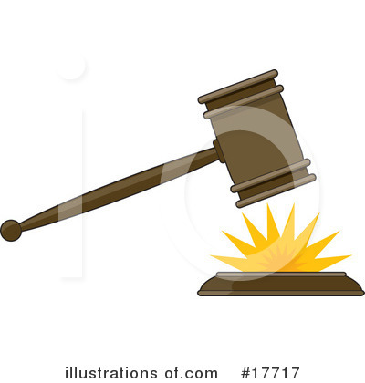 Court Gavel Clipart