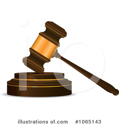 Gavel Clipart  1065143   Illustration By Seamartini Graphics