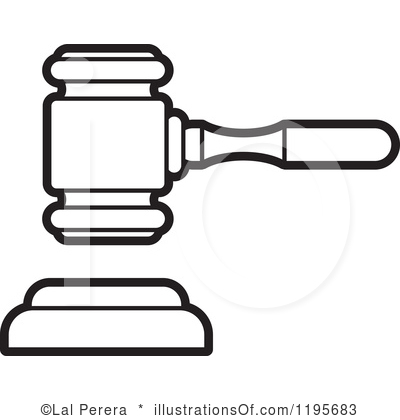 Gavel Clipart Royalty Free Gavel Clipart Illustration 1195683 Jpg