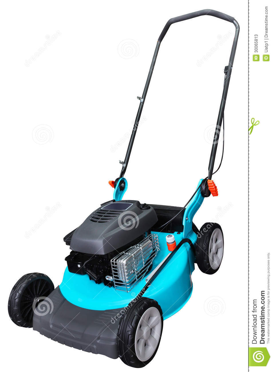 Lawn Mower Under The White Background Mr No Pr No 2 509 1