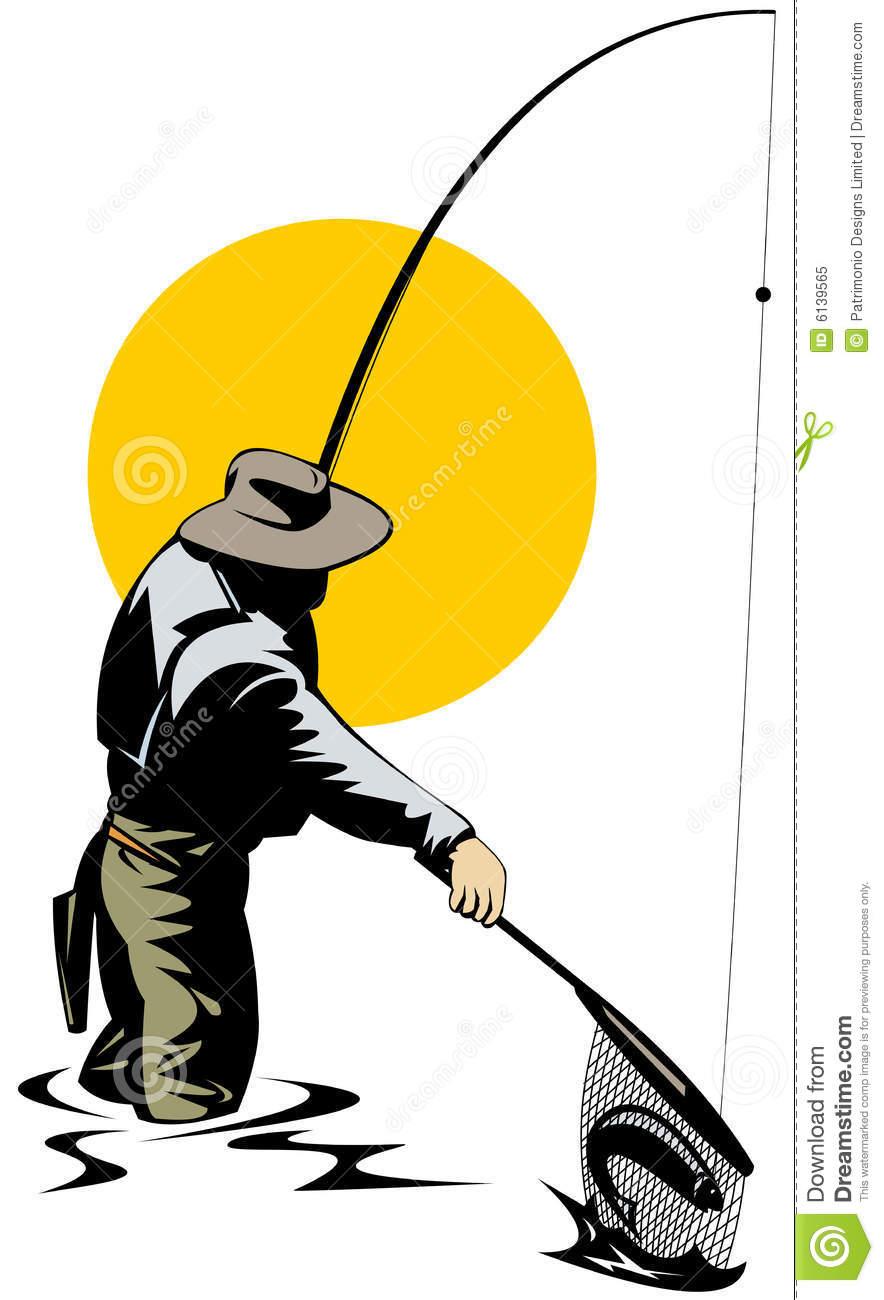 бесплатный клипарт рыбалка
