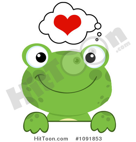 Valentine Frog Clipart - Clipart Kid
