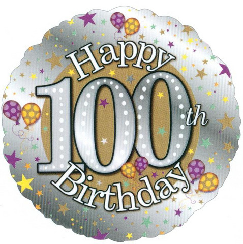 100th Birthday Clipart - Clipart Suggest