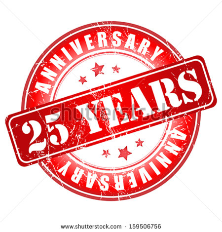 25th Anniversary Stock Photos Images   Pictures   Shutterstock
