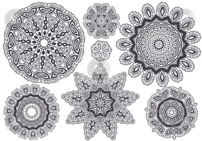 Beautiful Lace Patterns Like This One Are Easy To Find Online