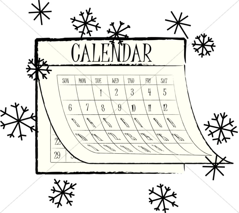 Calendar Black And White : Calendar black and white clipart suggest