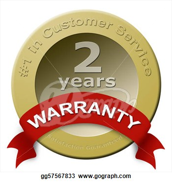 Clipart   Customer Service Warranty Seal  Stock Illustration