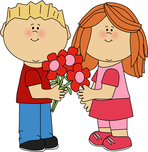 Valentine Flowers Clipart - Clipart Kid