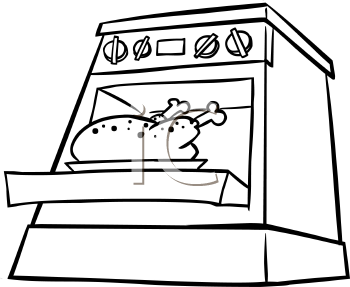 Open Oven Clipart - Cl...