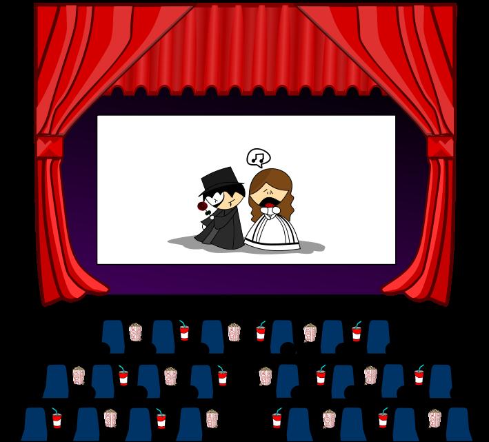 Cinema Clipart - Clipart Kid