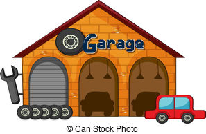 Garage clipart clipart suggest for Disegni di addizione garage
