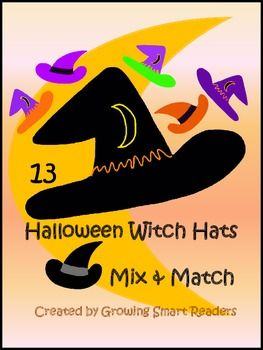 Halloween Clipart  Have Some Howl Een Fun With Stylin  Witch Hats  13