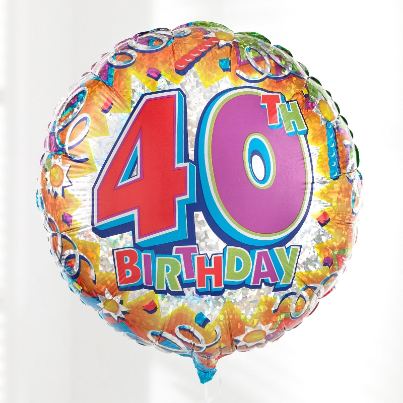 Happy 40th Birthday Clipart Cliparts Co