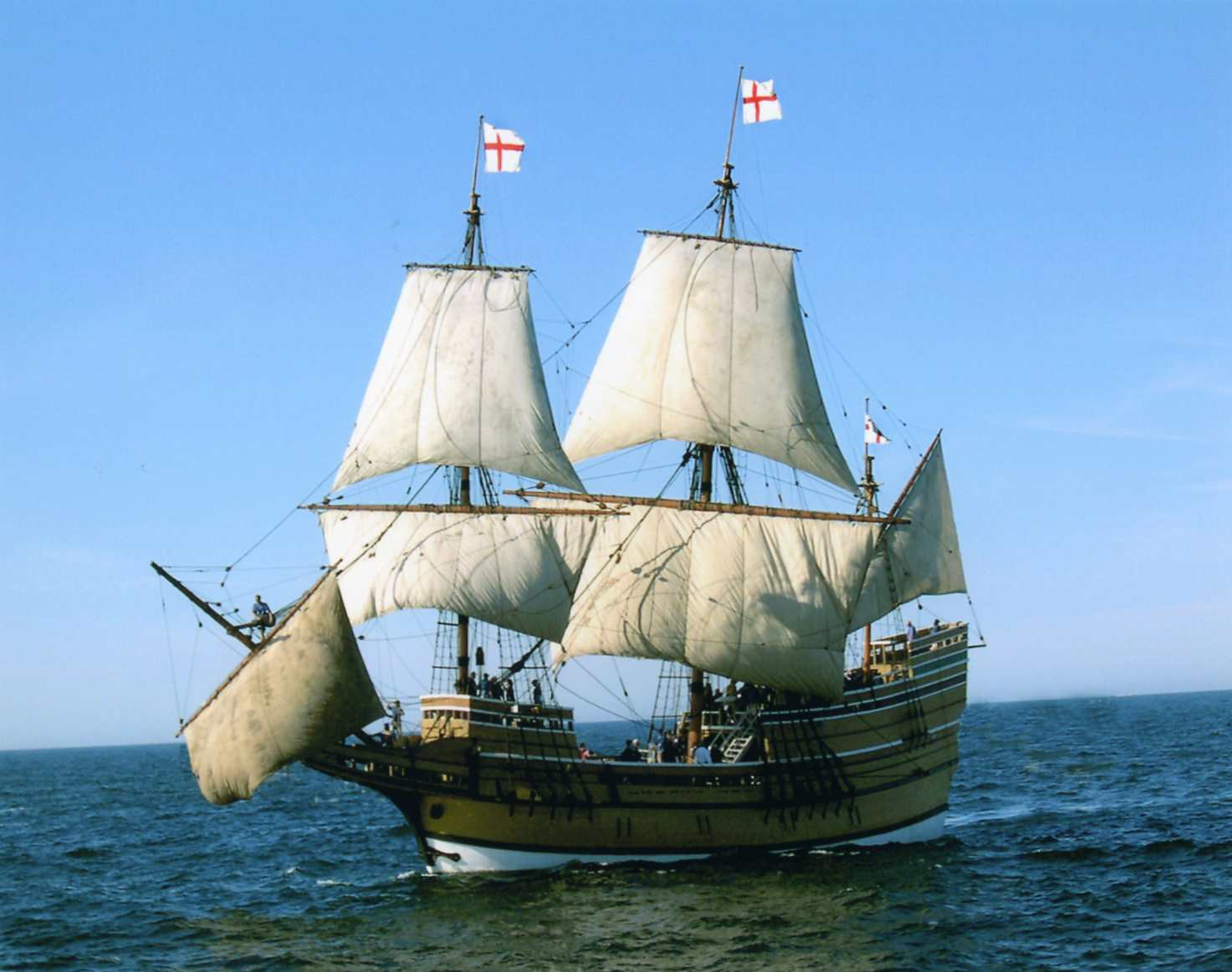 Historic Mayflower Ii At Mystic Seaport For Historic Renovations