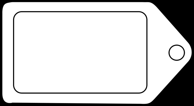 Label Clipart - Clipart Kid