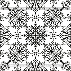 Lace Seamless Pattern   Stock Vector Clipart