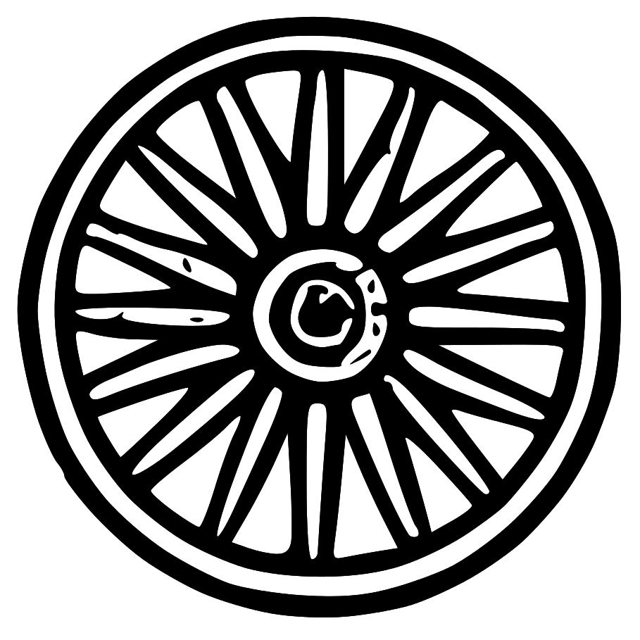 wagon wheel clipart clipart suggest Coyote Clip Art pioneer wagon wheel clipart